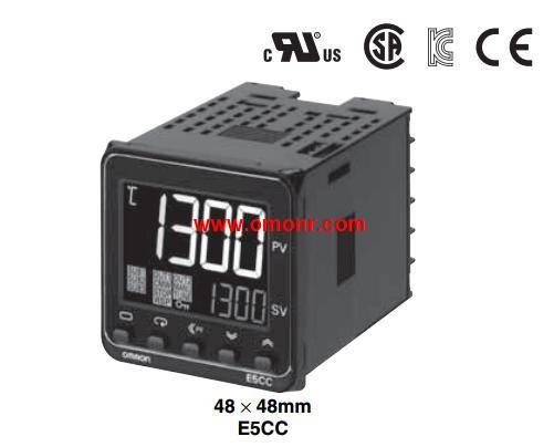 New Digital Omron Temperature Controller E5EC-QX2ASM-800 AC100-240V