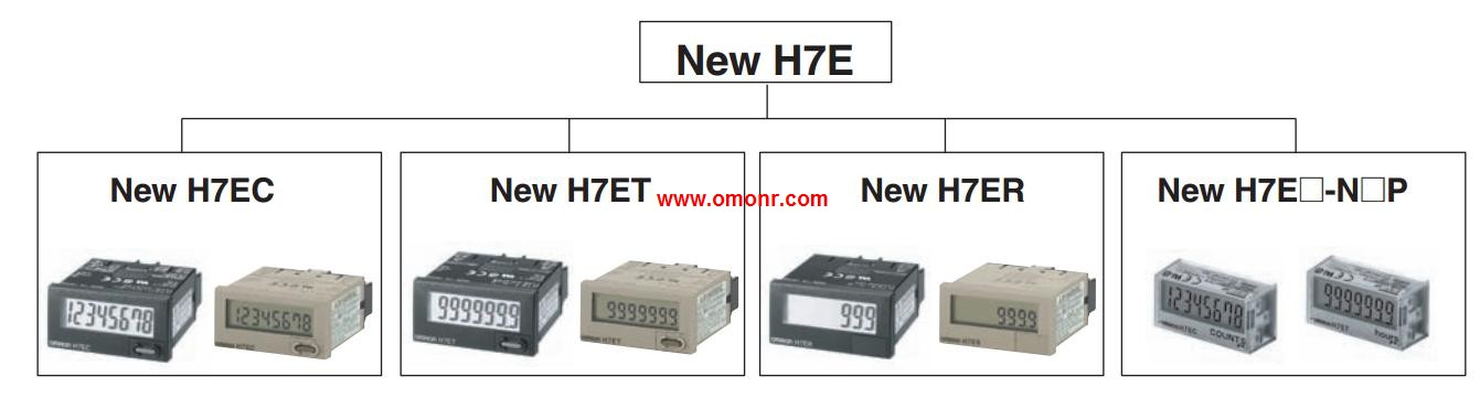 ONE NEW H7et-Nfv-B Omron ONE Timer